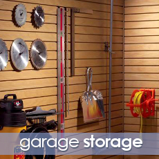 Space solutions toronto custom closets built ins for Garage built ins