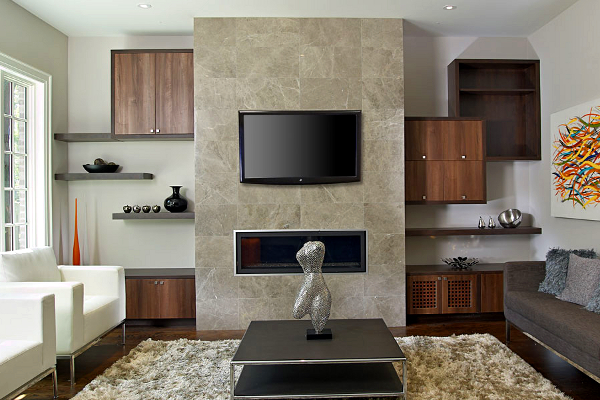... Wall Unit,living Room,custom Cabinetry,floating Shelves