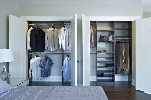 Closet Organizerdouble ClosetTorontohis And Hers Closetcustom Closets