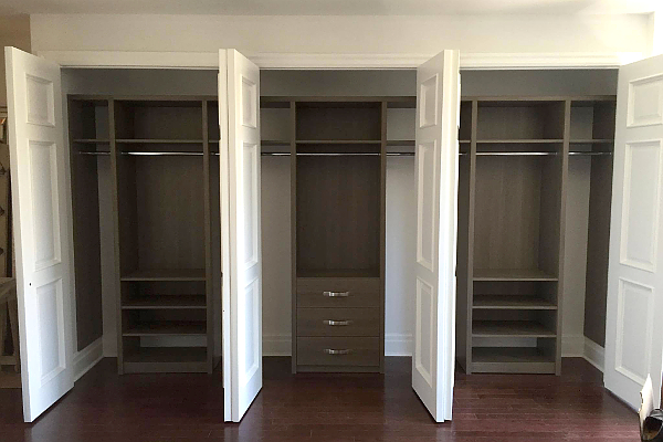 Closet Organizer Reach In Double His And Hers Toronto