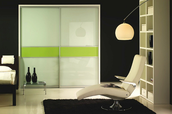 Space solutions toronto custom closet doors custom for Back painted glass designs for wardrobe