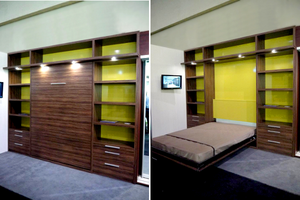 Space solutions toronto murphy beds wall units april Modern murphy bed