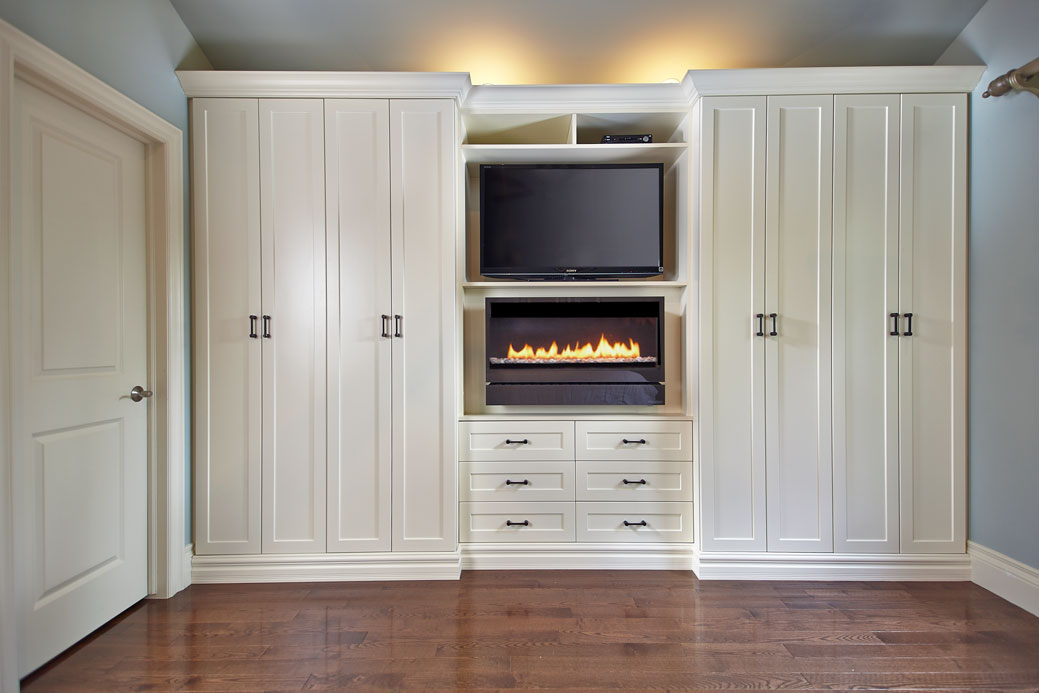 Custom Built In Fireplaces Space Solutions By Organized