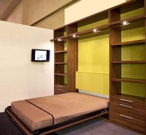 two tone Murphy Bed