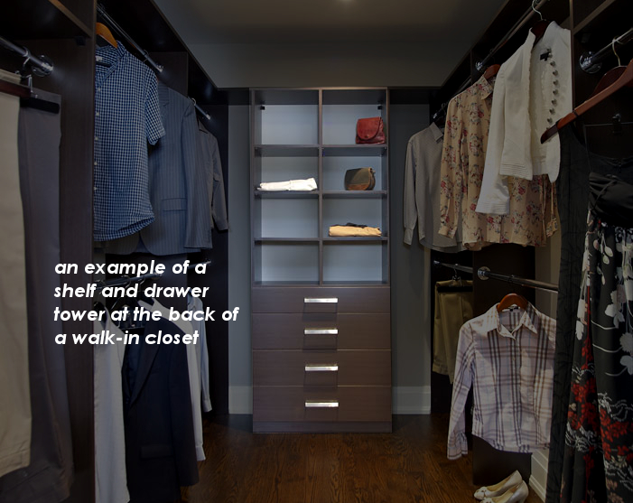 custom walk-in closet