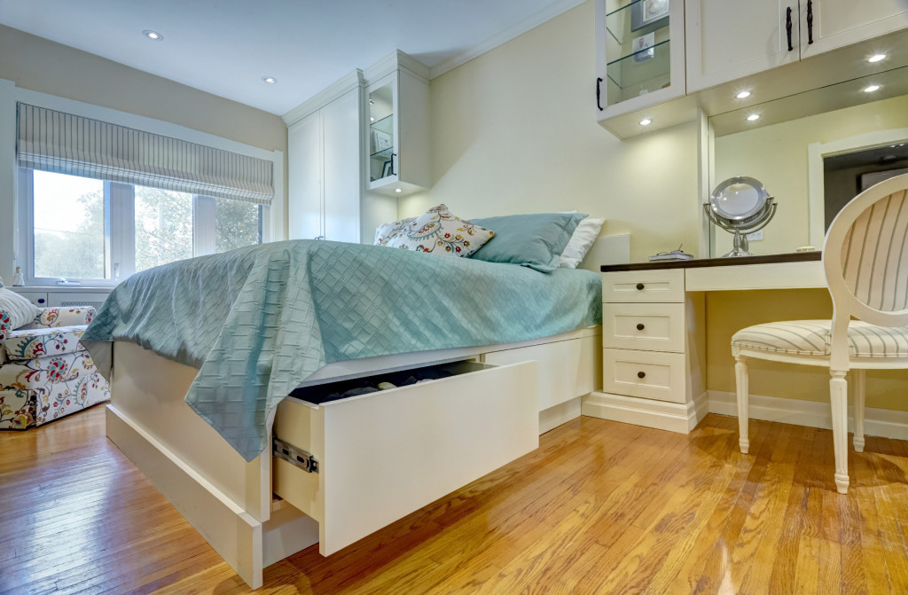 Antique White master bedroom drawers