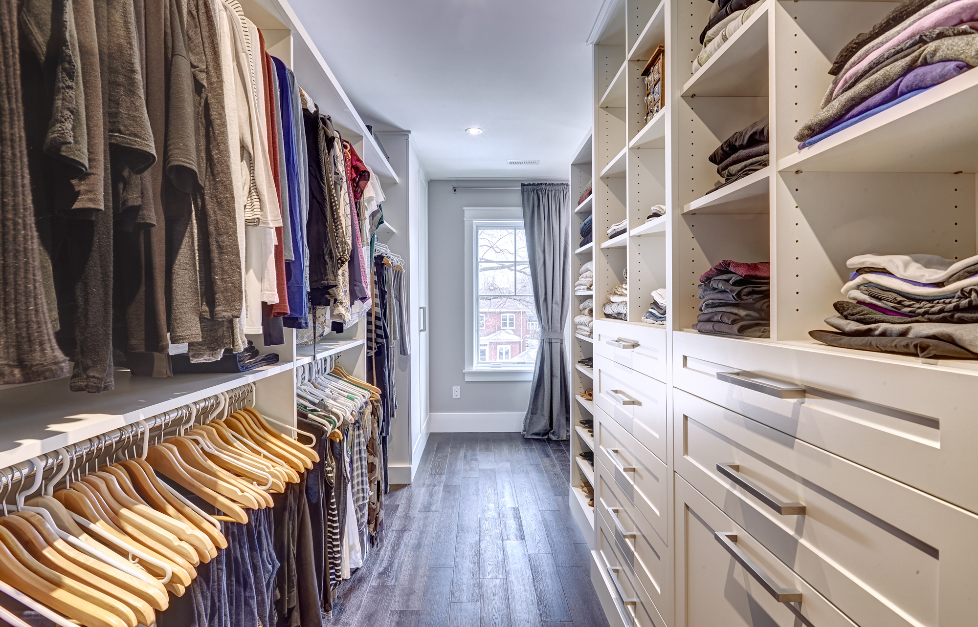 The Custom Master Bedroom Walk In Closet Space Solutions