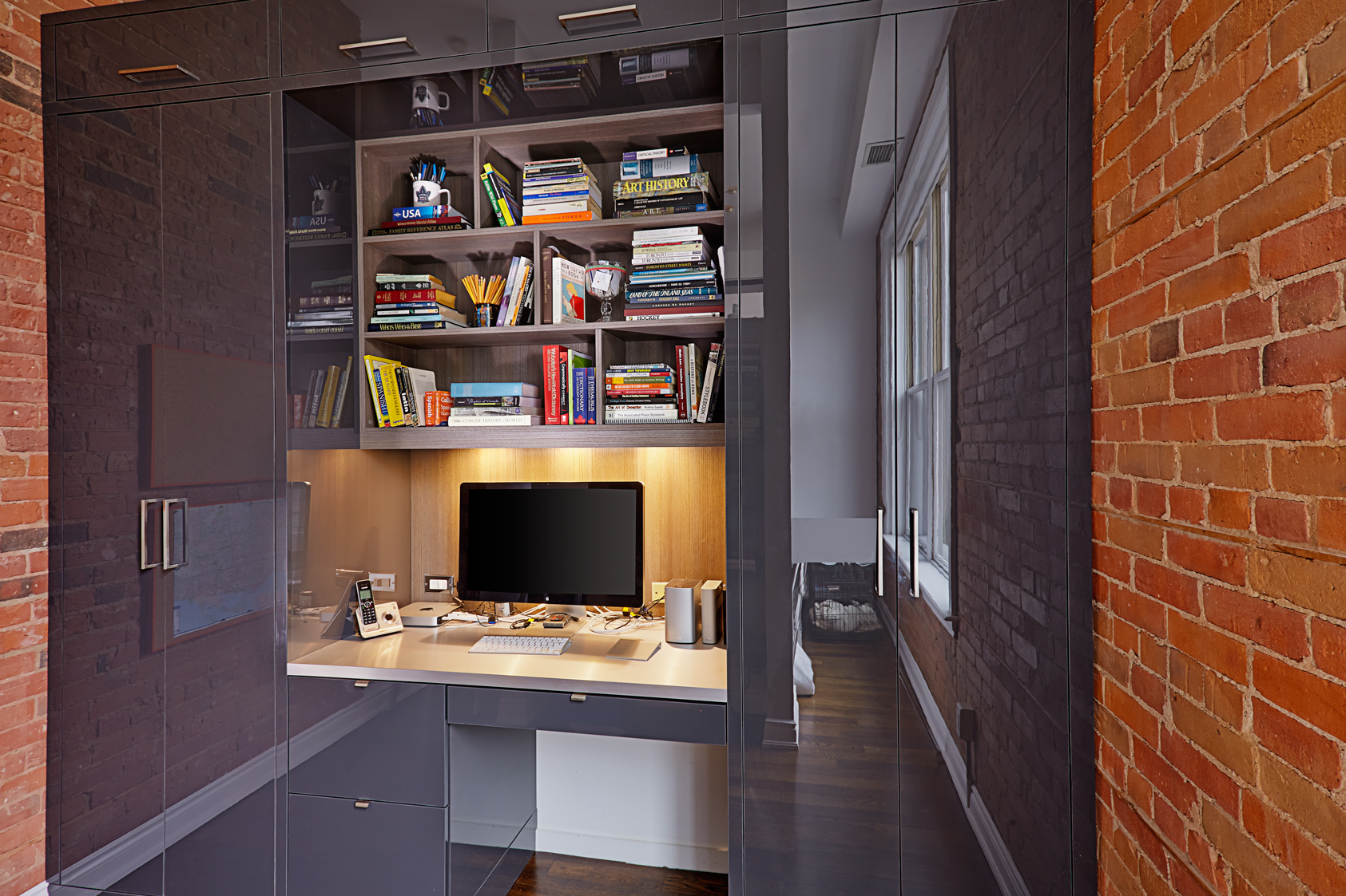 Liberty Village Loft Home Office And Bar Space Solutions