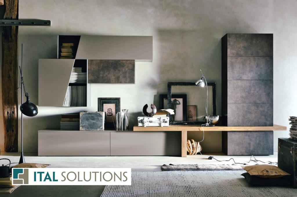 Gruppo Tomasella, family room, modern condo, interior design, Italian design, living room, Ital Solutions, Toronto condo