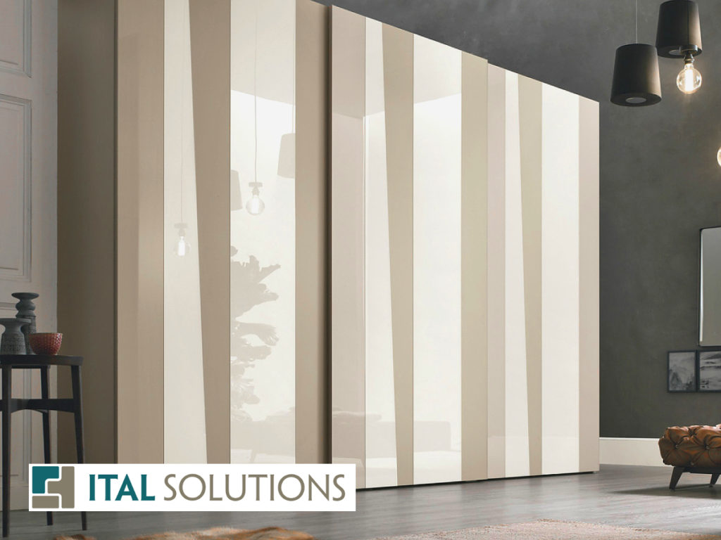 Gruppo Tomasella, bedroom, modern condo, Ital Solutions, interior design, Italian design, closet, Toronto condo
