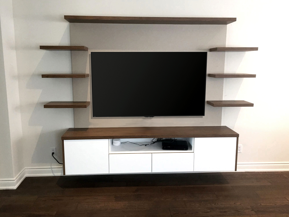 Toronto Home Entertainment Storage And Built Ins By Space