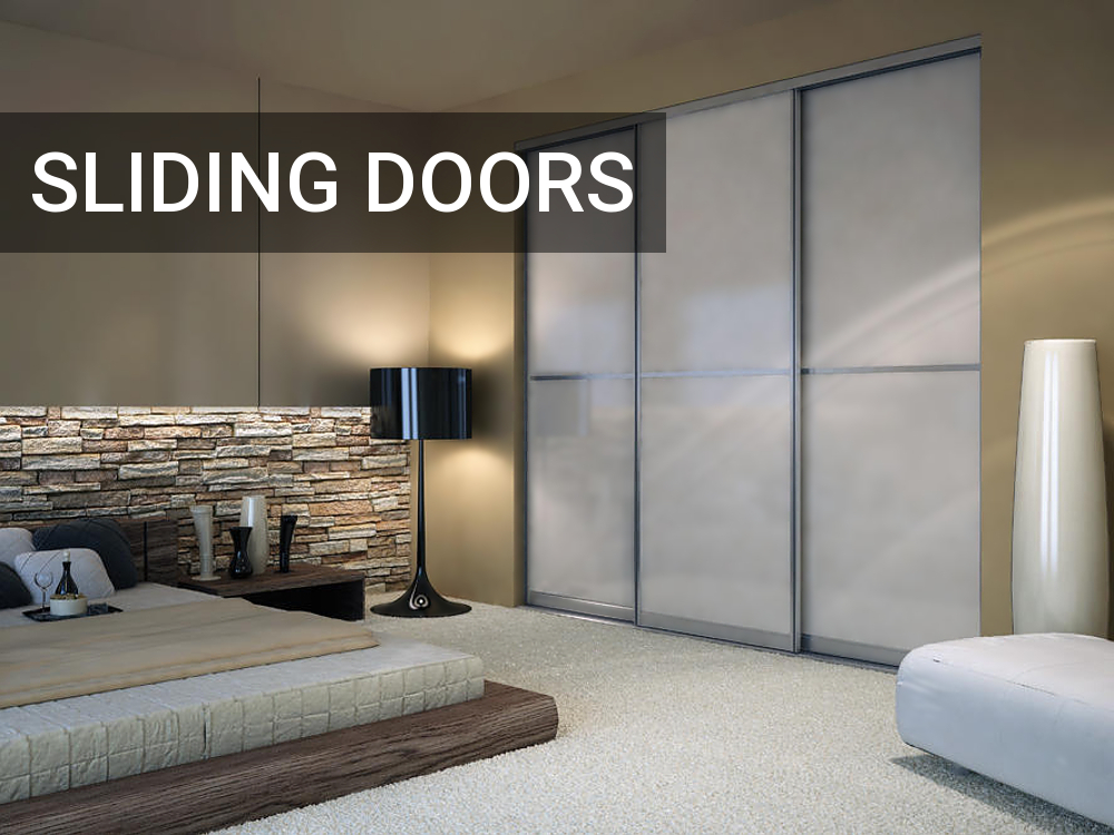 Image mirrored sliding closet doors toronto Modern Door Set Aventura Profile With Fixed Panel Under Cornice With White Lami Glass Pinterest Toronto Custom Closet Doors Sliding Doors Room Dividers Mirror Glass